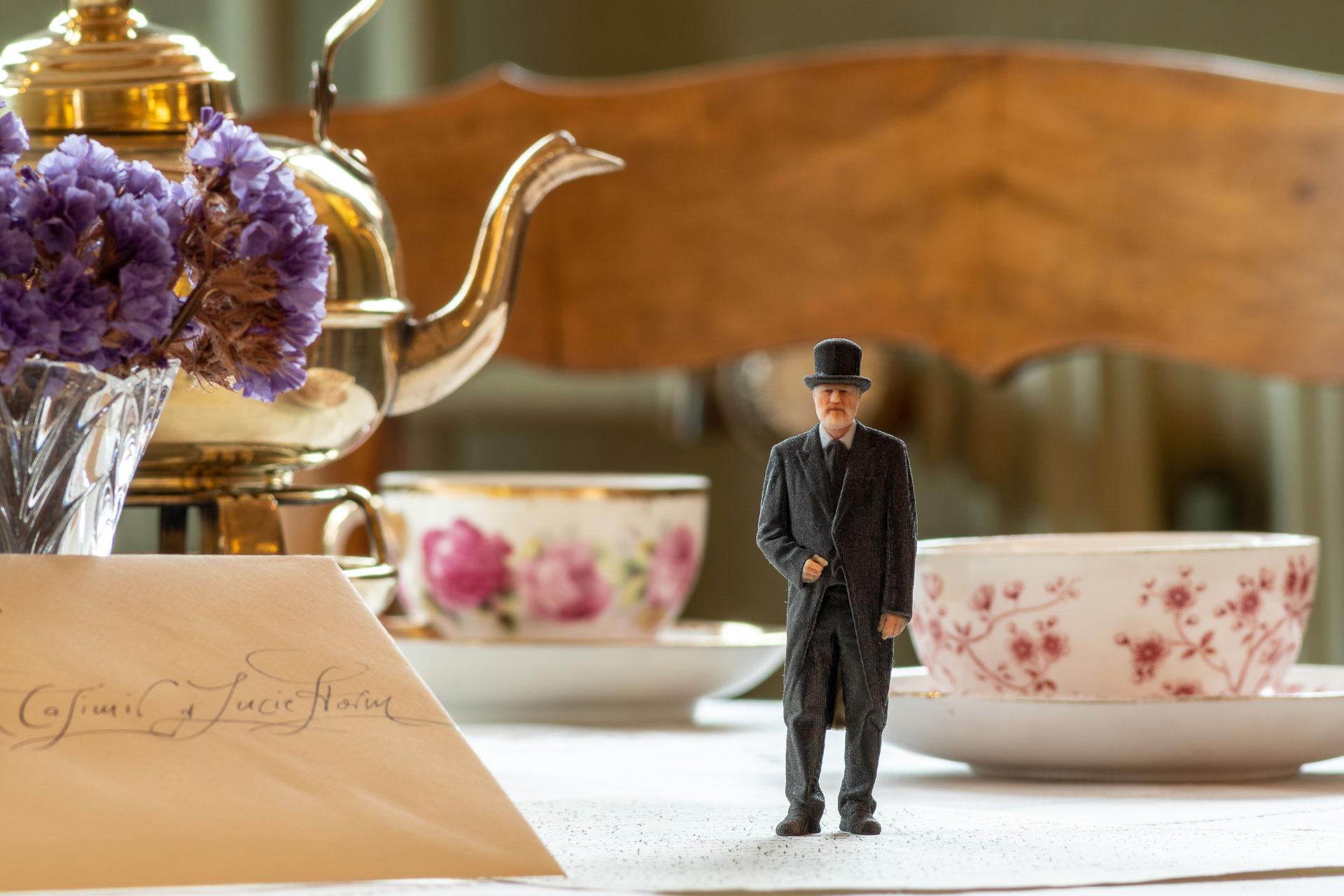 Um 16 Uhr zum Tee bei Theodor Storm