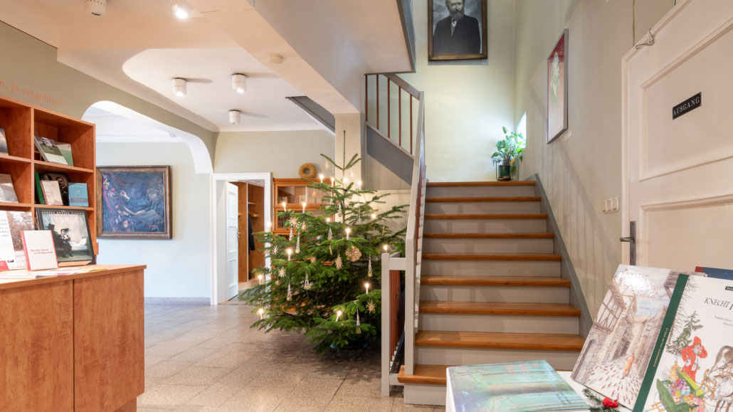 Wie Theodor Storm einst Weihnachten feierte