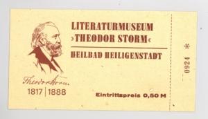 Eintrittskarte DDR Zeit